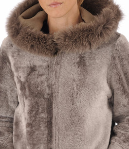 Veste réversible en agneau La Canadienne