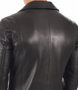 Blouson en cuir homme noir La Canadienne