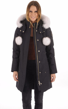 Parka longue Stirling Navy-White1