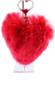 Porte Clef Herz Rouge1