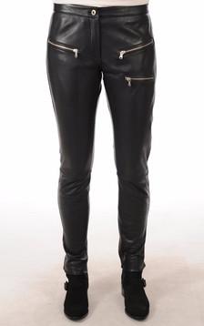 Pantalon Cuir Femme Style Rock1