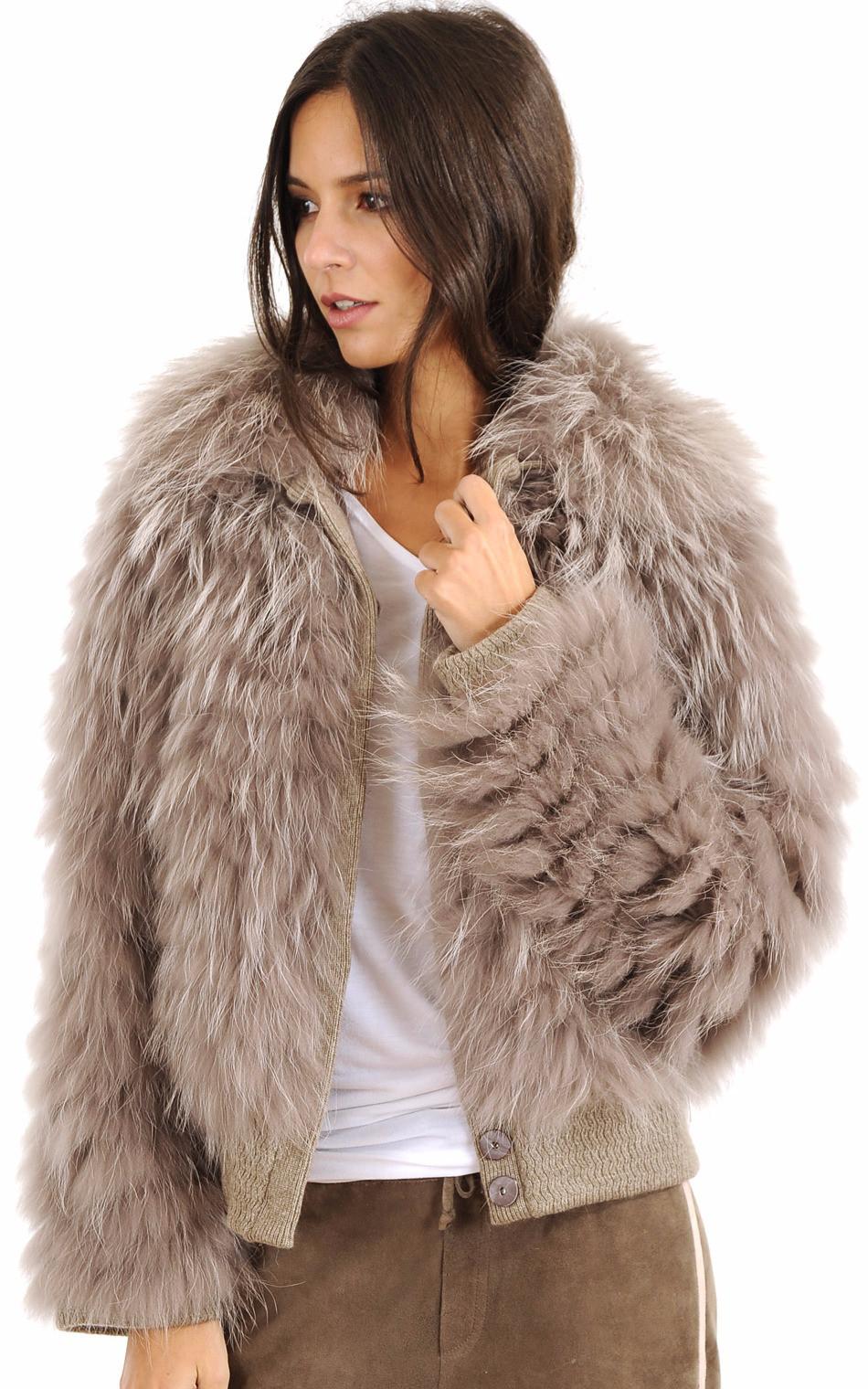 Blouson Raccoon Femme1