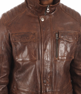 Veste confortable marron vieilli Daytona 73