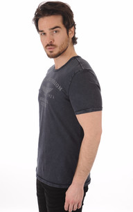 T-Shirt Bleu Denim Division1