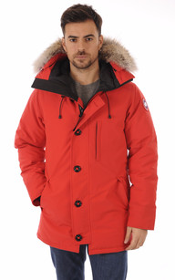 Parka The Chateau Red1