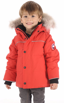 Parka SNOWY OWL Rouge1