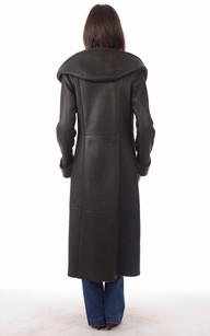 Manteau Peau Lainée en Mérinos