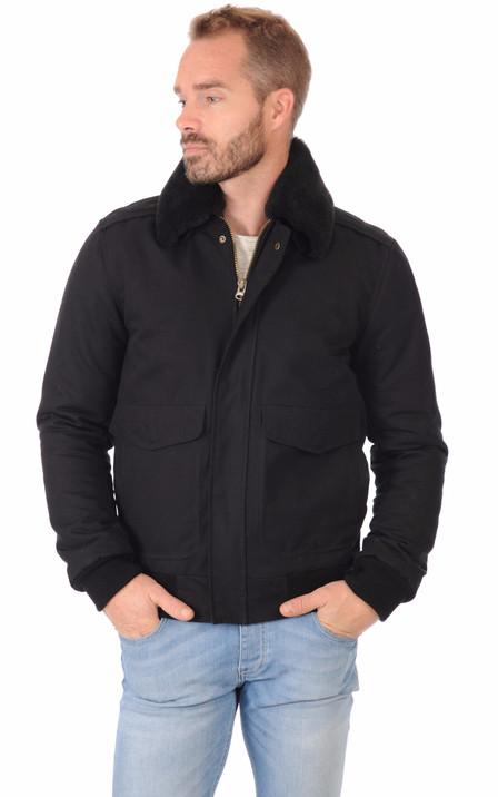 Outlet Homme - Promo blousons et vestes cuir 53fde56d4639