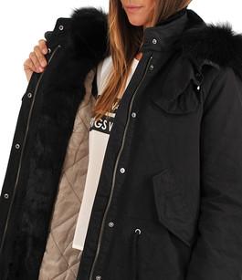 Parka Textile & Fourrure Femme Iq Berlin