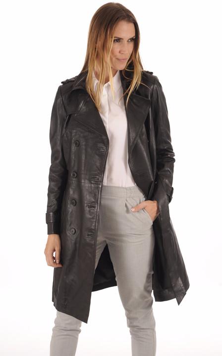 Manteau Cuir femme – Manteaux cuir – La Canadienne 1d129416d654