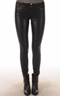 Pantalon Pandora Cuir Stretch Oakwood