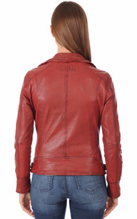 Blouson Perf Style Perfecto Rouge