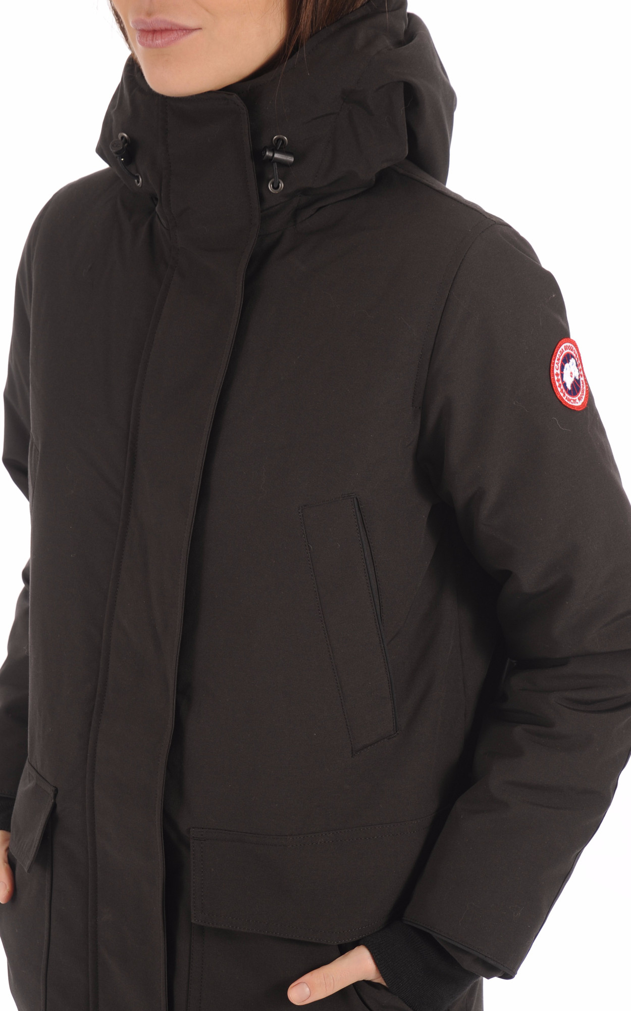Parka Canmore noire Canada Goose