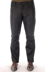 Pantalon Cuir Nubuck Homme1