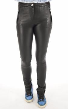Pantalon Céleste agneau stretch noir