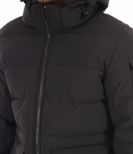 Doudoune Authentic Ultra Mat noir Pyrenex
