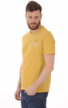 T-shirt Jaune Moutarde A.M