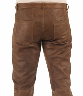 Pantalon Cuir Vielli La Canadienne