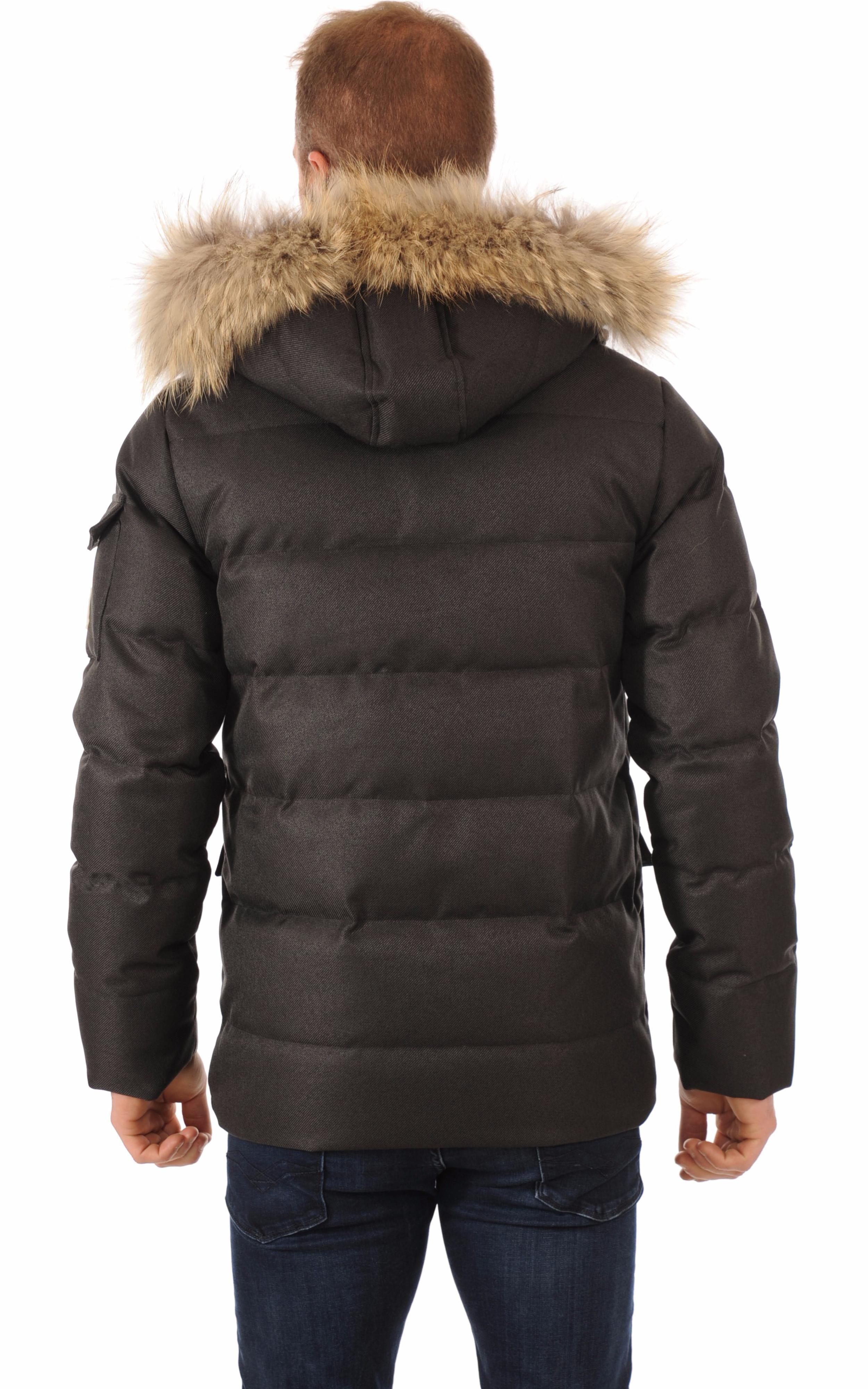 485d0fbb29a5d Doudoune Authentic Jacket Drill Grise Homme Pyrenex - La Canadienne ...