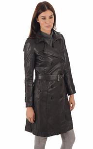 Manteaux cuir et peau lainée pour femme | La Canadienne