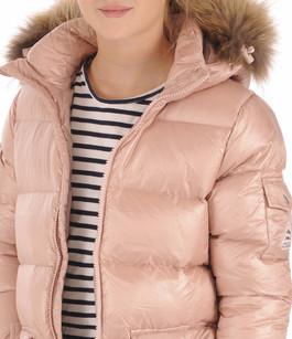 Doudoune Authentic Jacket Shiny Girl Rose Pyrenex