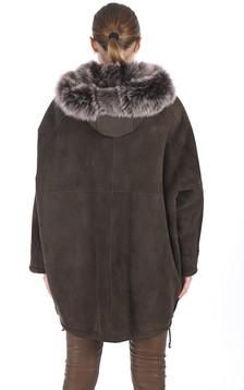 Veste esprit cape agneau de Toscane