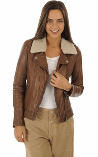 Blouson Follower marron