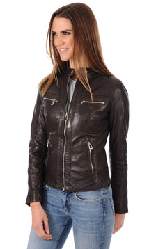 Blouson Antonia Marron1