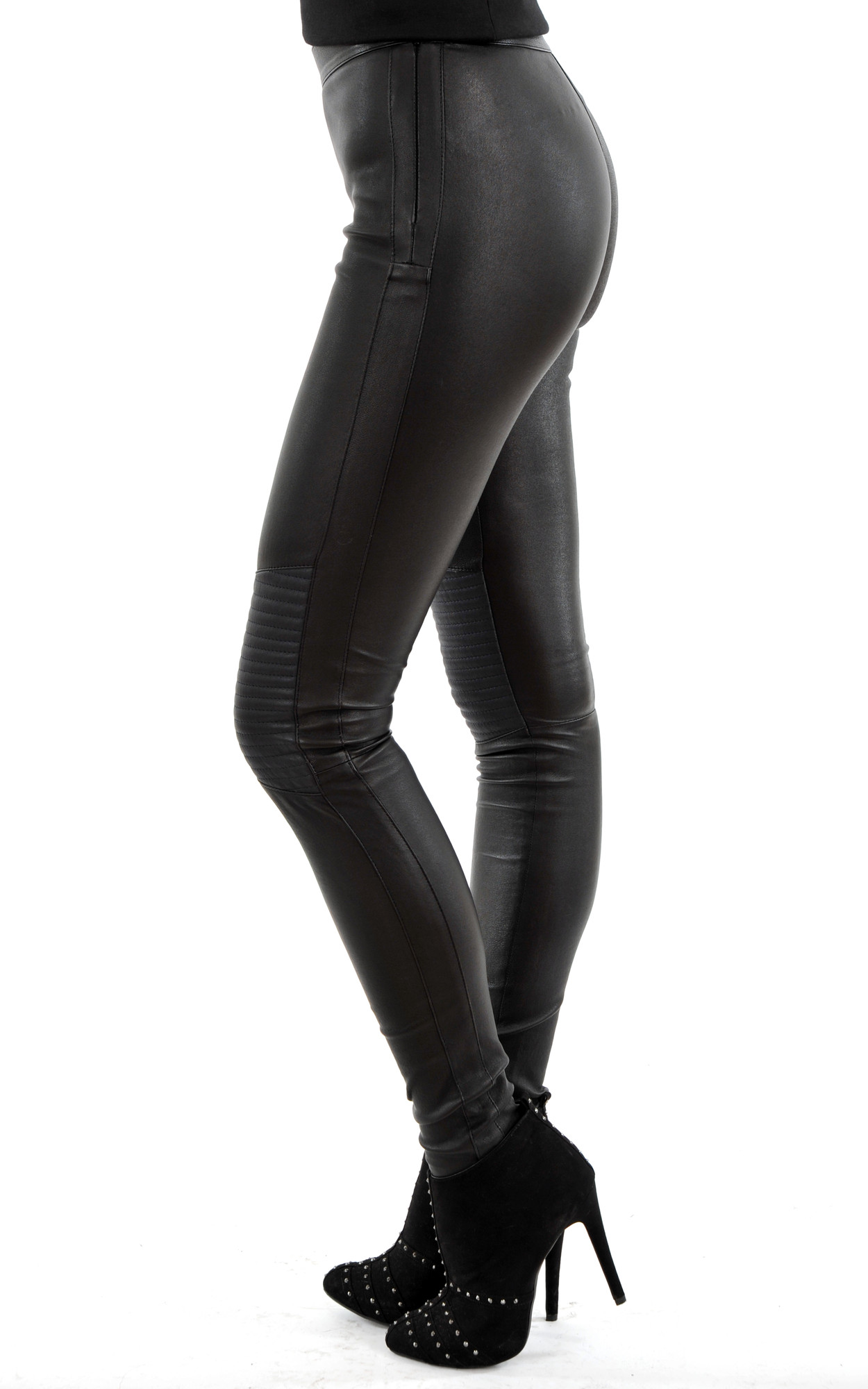 Legging Cuir d'Agneau Stretch