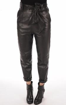 Pantalon chino agneau noir1