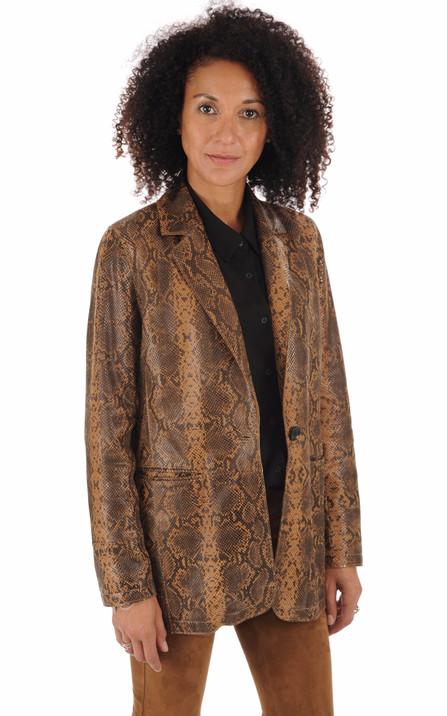 à bas prix 1fd26 16e9f Blouson et veste cuir pour femme La Canadienne, Oakwood ...