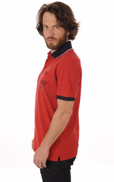 Polo Rouge Patch Aero1