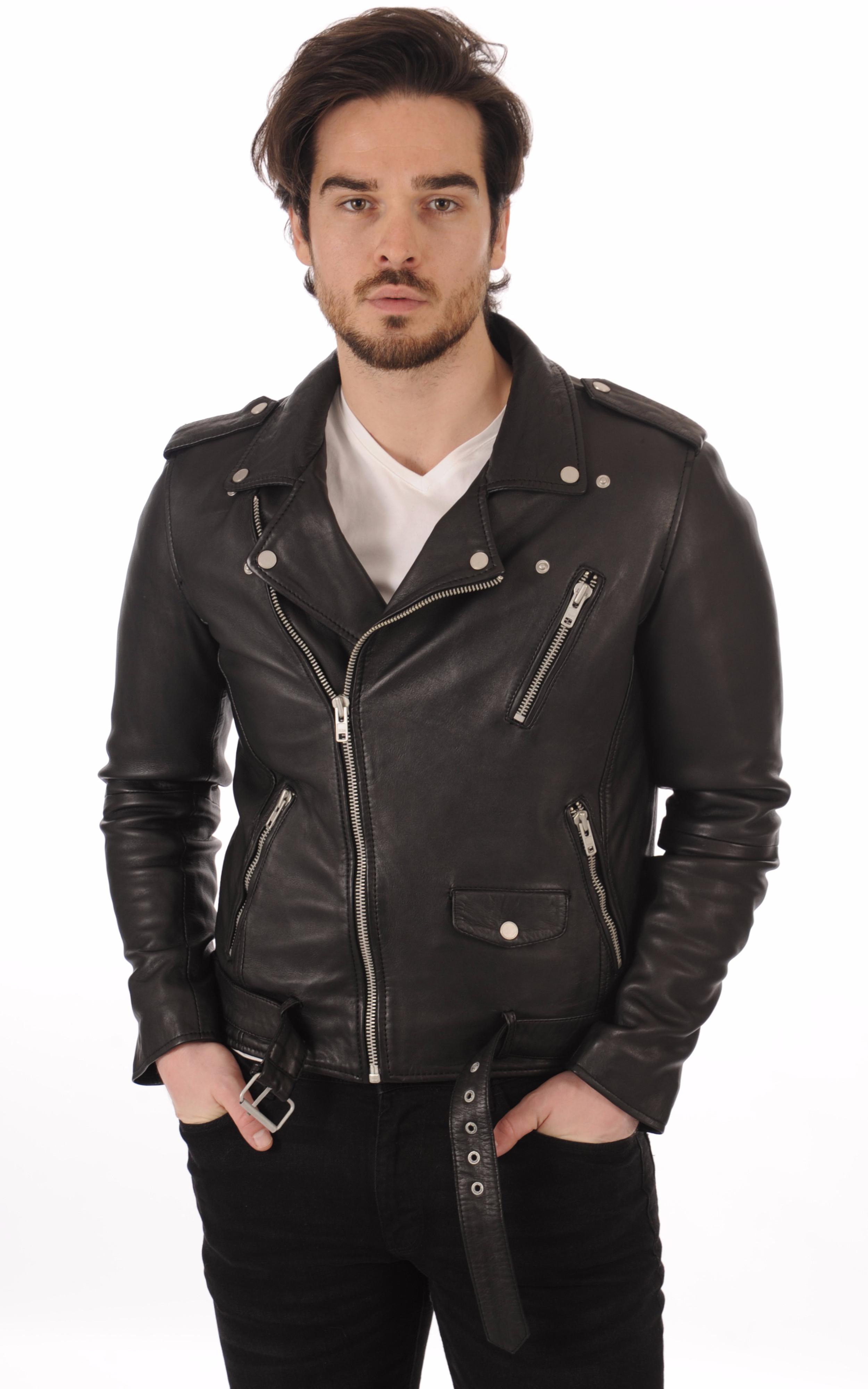 Perf Cuir Style Rocker Serge Pariente