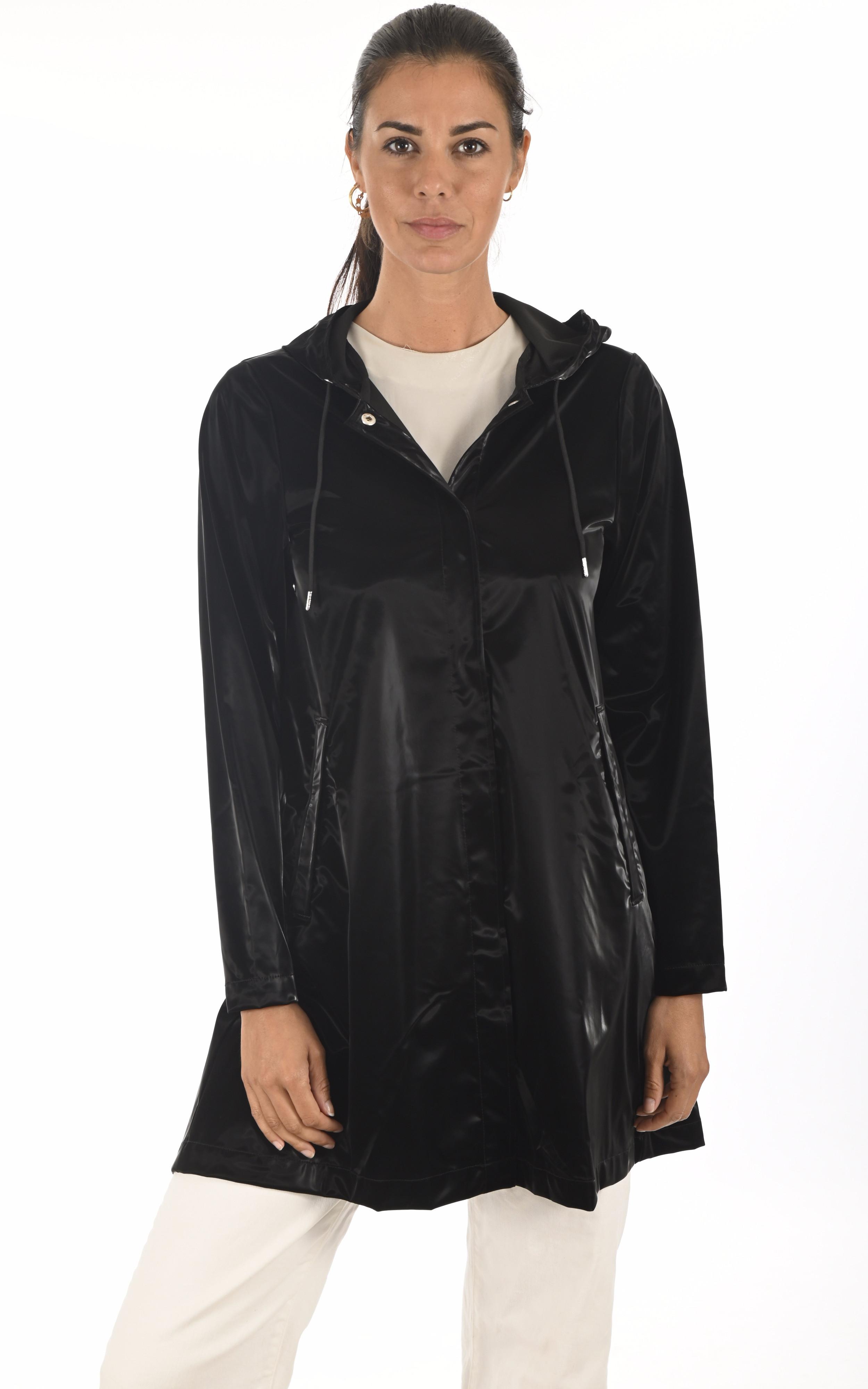Imperméable A-Line noir Rains