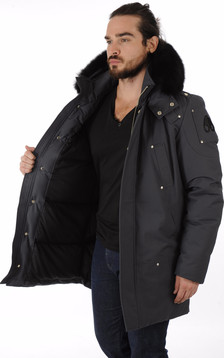 Parka Stirling gris anthracite