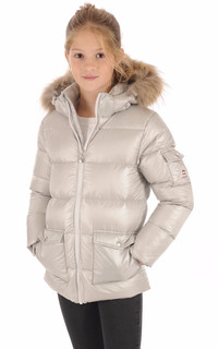 Doudoune Authentic Jacket Shiny Girl Metallic