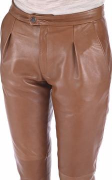 Pantalon Chino Femme Caramel