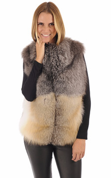 Gilet Femme Fourrure Renard1