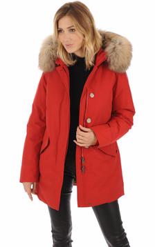 Parka Arctic rouge femme1