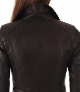 blouson perfecto cuir femme noir la canadienne la. Black Bedroom Furniture Sets. Home Design Ideas