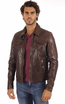 Blouson Shelby Marron