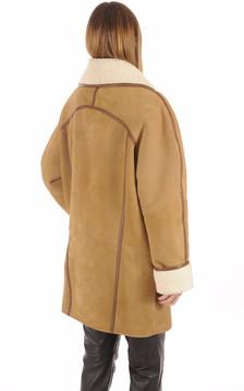 Veste Esprit Vintage Mouton Femme