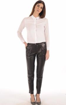 Pantalon Chino Femme Noir
