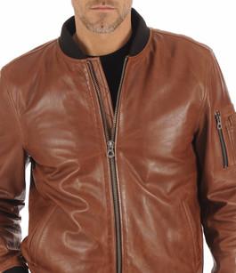 Blouson Teddy Cognac Homme Daytona 73