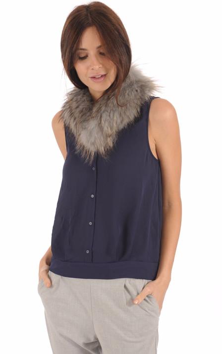 565991fc04858 Blouson, veste, manteau en fourrure pour femme   Renard, Vison ...