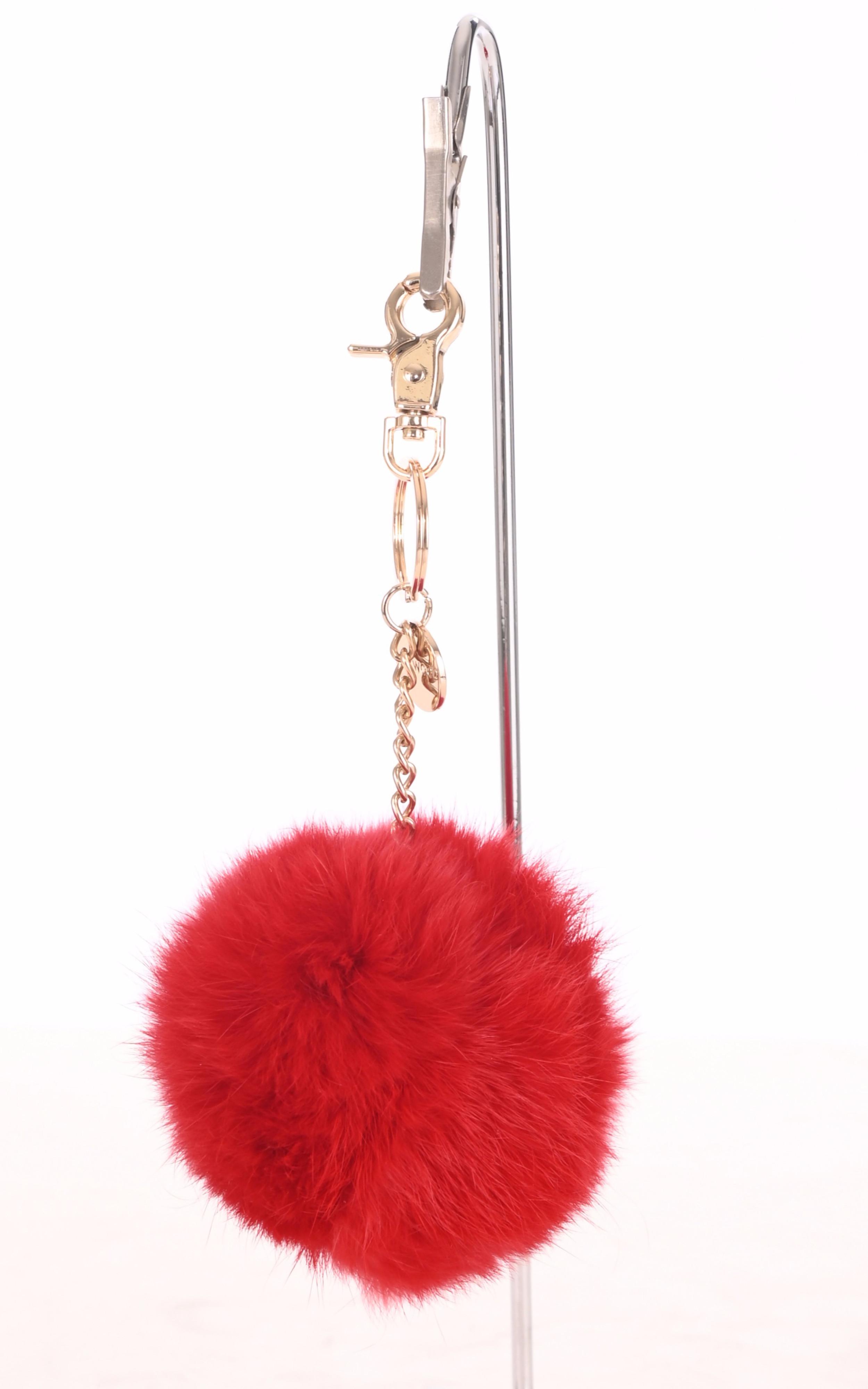 Porte-clé lapin rouge Oakwood