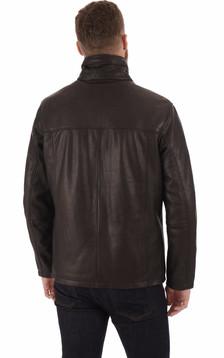 Surveste confortable cuir noir
