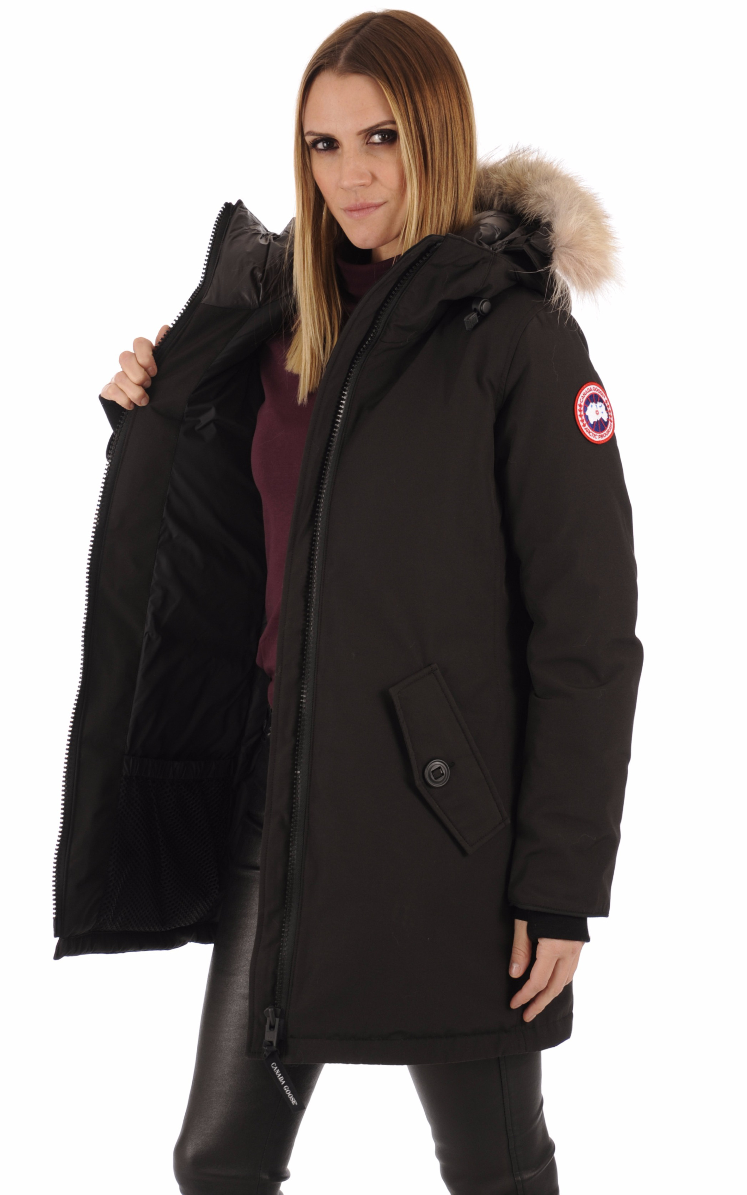 Parka Rosemont noir Canada Goose