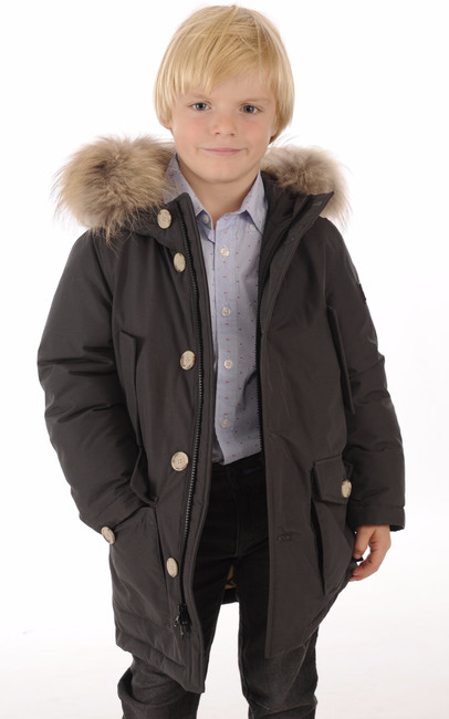 ARTIC PARKA Anthracite Junior Woolrich