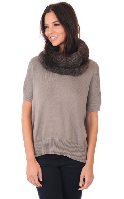 Snood Fourrure Lea Clement
